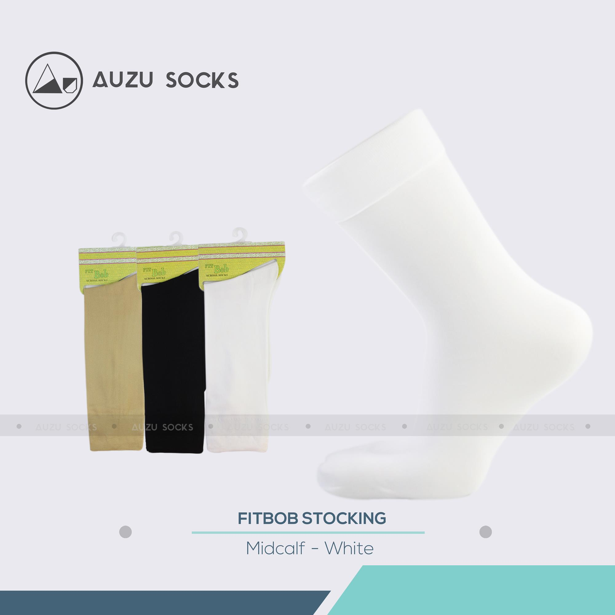 Buy Sell Cheapest Auzu Kaos Kaki Best Quality Product Deals Pramuka Sma Socks 2 Pasang Formal Wanita Kerja Stocking Sebetis