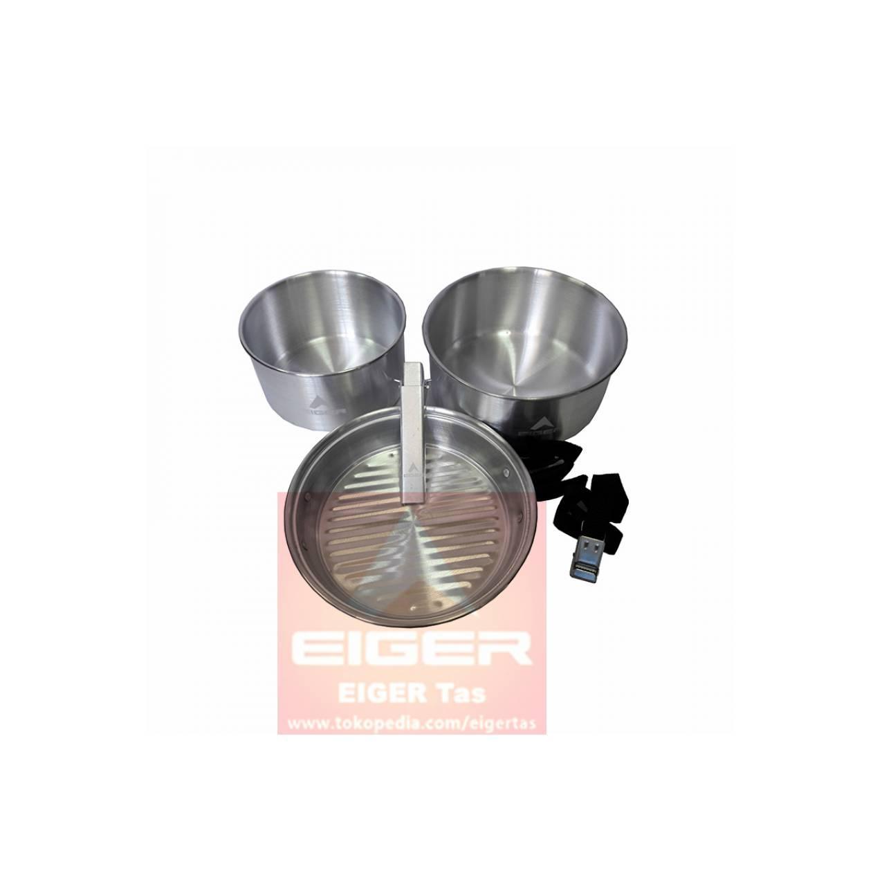 COOKING SET EIGER 910003519 001 CREW COOK SET 2 - ALAT MASAK CAMPING
