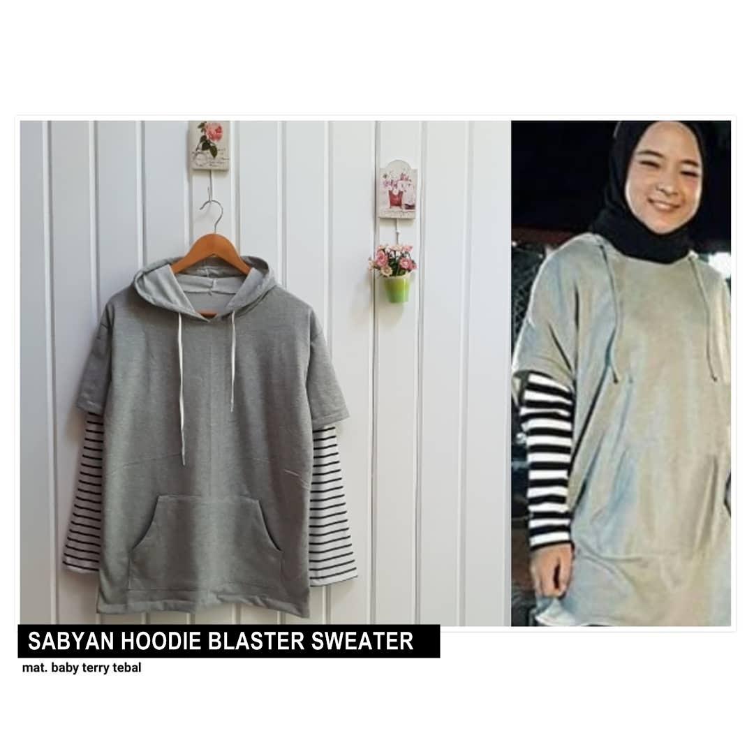 Hoodie Sweater Wanita Terbaru Setelan Baju Dan Celana Kucing Berkumis Sabyan Blaster Loekita Grosir Jaket Atasan Blouse