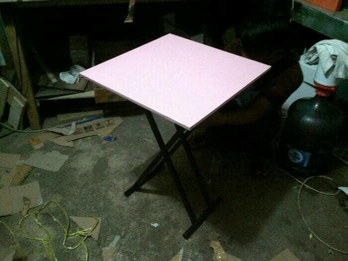 [ GARANSI 100 % ]    meja lipat/meja makan/meja bazar/meja jualan/meja cafe  @ meja makan minimalis taplak lipat kayu jati bayi set lesehan set 4 kursi murah