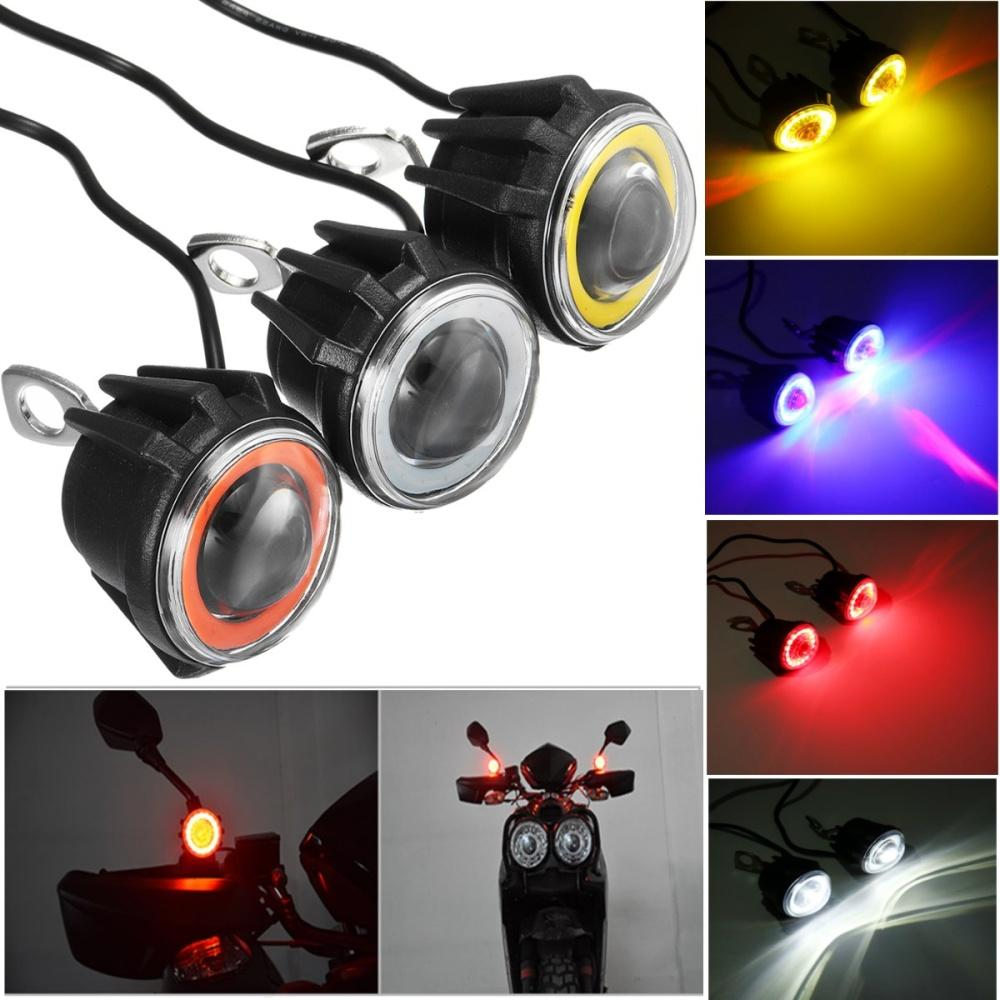 Buy Sell Cheapest Led Sorot Projector Best Quality Product Deals Motor U7 Mini Angel Eyes Lampu Tembak Cree Spion Ae De 15w