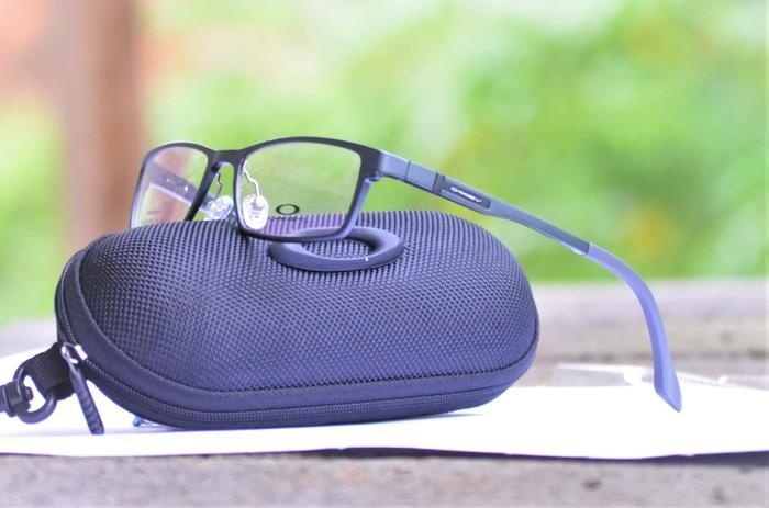 diskon 15%!! Kacamata Oakley Titanium Ox149 (Frame+Lensa) Minus Plus Anti Radiasi - ready stock