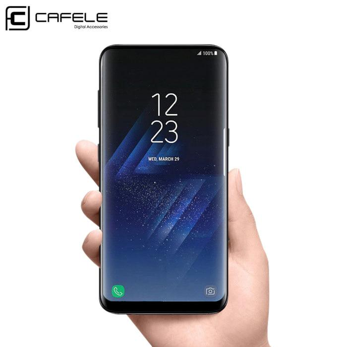 Full Fully Cover 3D Curved PET Screen Protector Galaxy S8 Plus Murah