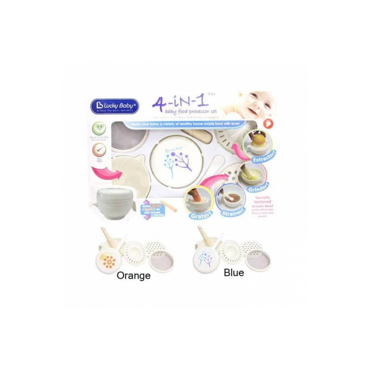 (Baby Club Itc Bsd) Lucky Baby Food Maker 4-in-1