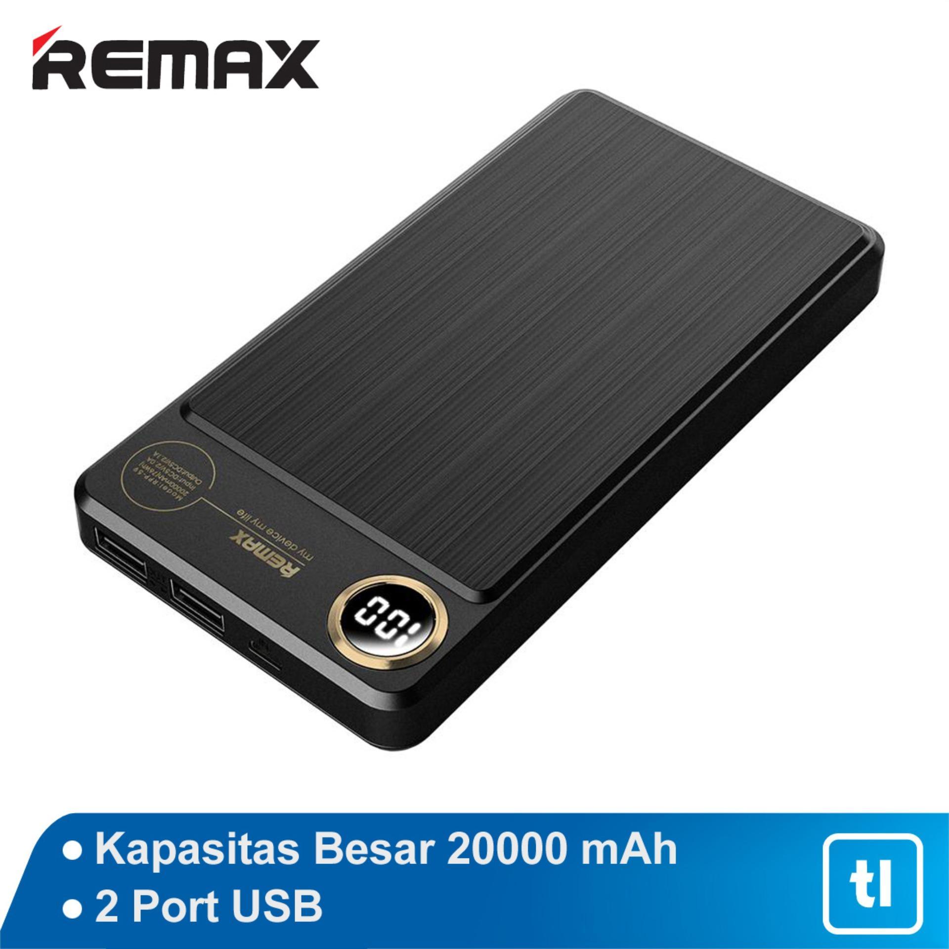 Powerbank Remax Kooker 20000 MAH Dual RPP-59 Real Capacity Original Garansi / Power bank Original / Powerbank Garansi / Powerbank Murah / Powerbank Bagus /Powerbank Awet