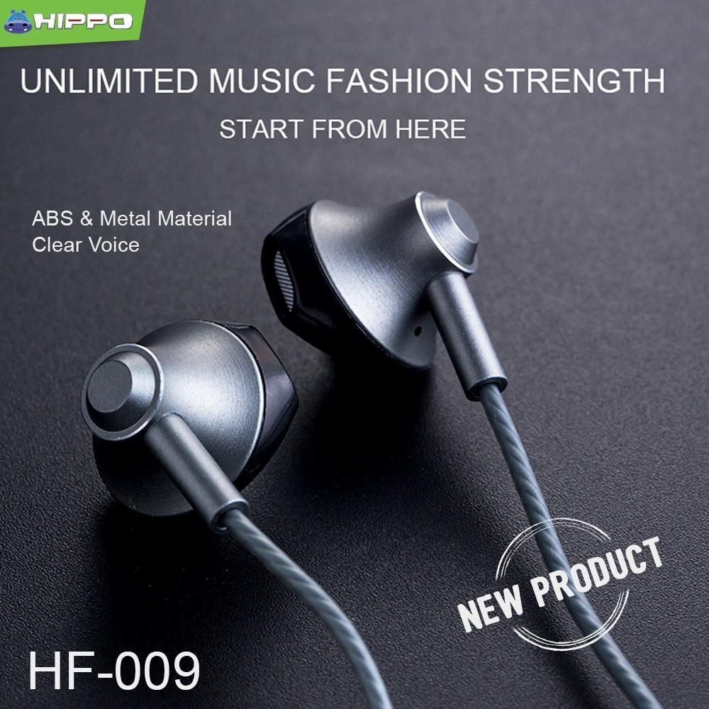 Jual Handsfree HIPPO HIP Microphone Headset Earphone Source · GRATIS ONGKIR Hippo Handsfree HF 009 FJ040 SEDIA headset headphone handsfree