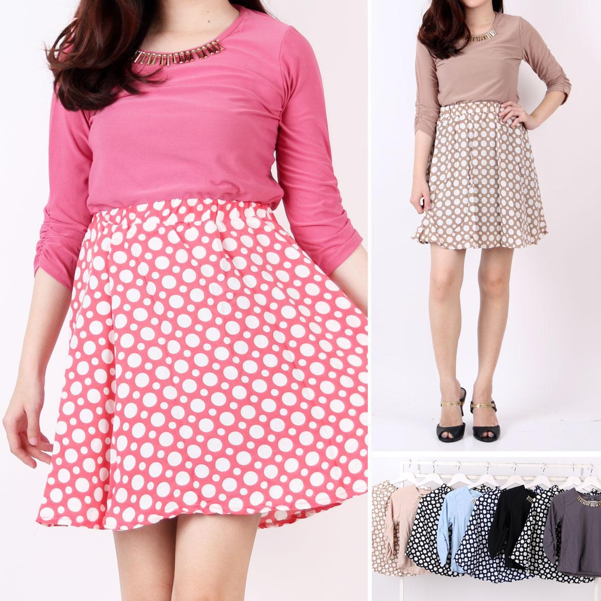 Jual Dress Merah Polkadot Murah Garansi Dan Berkualitas Id Store Macbee Kids Baju Anak Cherly Size 2 Rp 50000