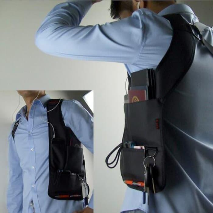 ORIGINAL!!! Tas gadget Tas Bahu FBI Anti-thief Hidden Underarm import bukan lokal - 5e7fPf