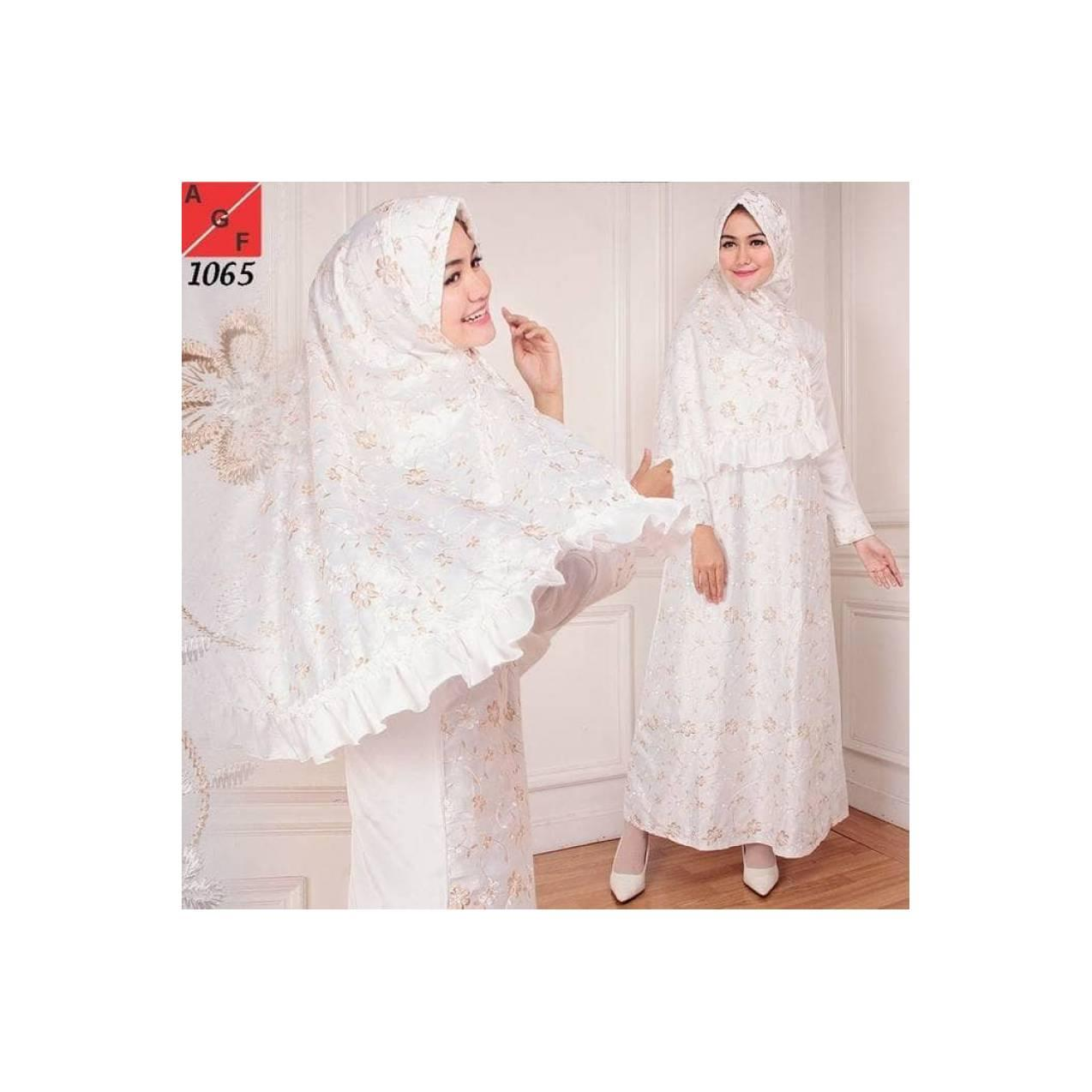Baju Gamis Putih Gamis umroh Baju Haji Baju muslim wanita Baju manasik