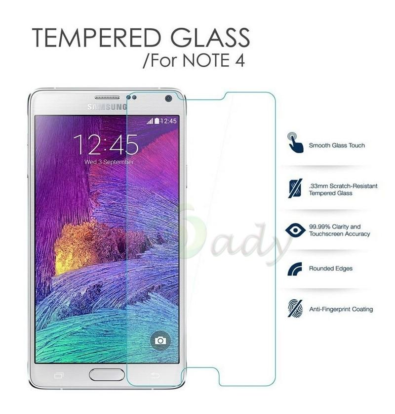 Uncle Star - Anti Gores Kaca / Tempered Glass Kaca Bening Samsung Galaxy Note 4