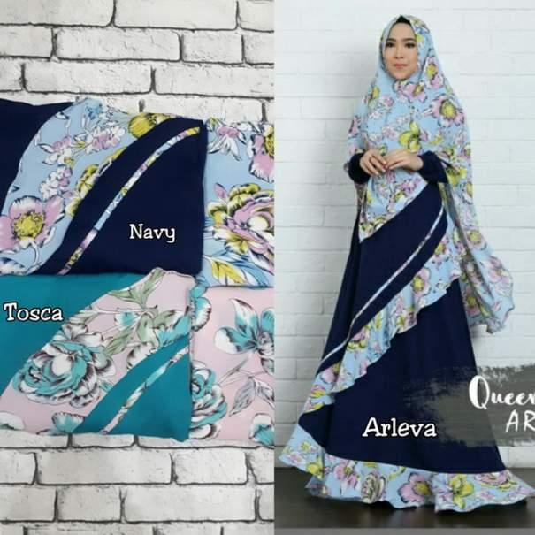 Gamis Syar'i ARLEVA by QUEENALABELS