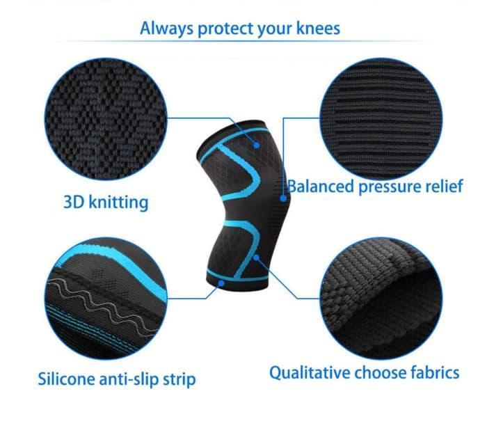 Sale -  1 Piece AOLIKES Knee Brace Kneebrace Knee Support Deker Lutut Aolikes  Import