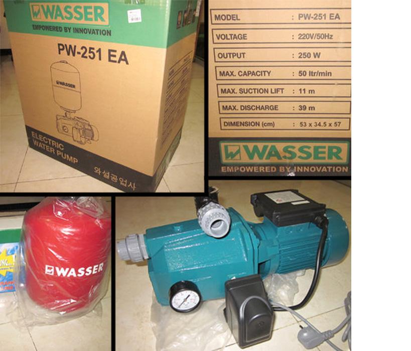 Pompa Wasser PW-251EA Pompa Semi Jet Pump Wasser 25Watt