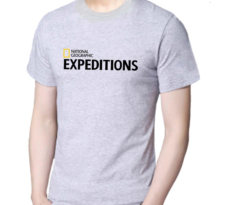 Kaos T-shirt Distro 11-11-EXPEDITIONS Pria / Wanita Bahan Catton - White