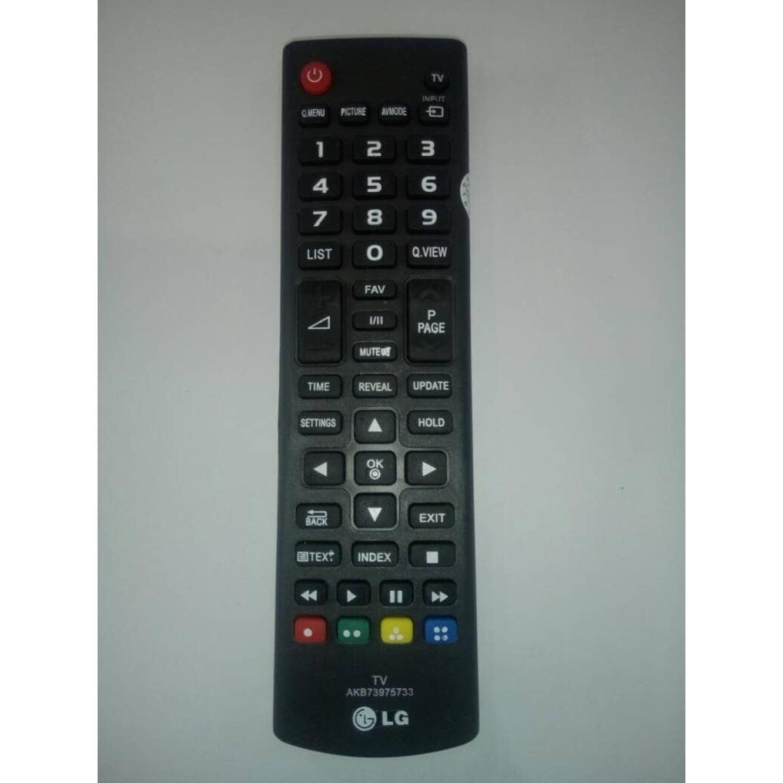 LG Remote TV LED/LC AKB74475472 - Hitam cocok untuk semua tipe akb