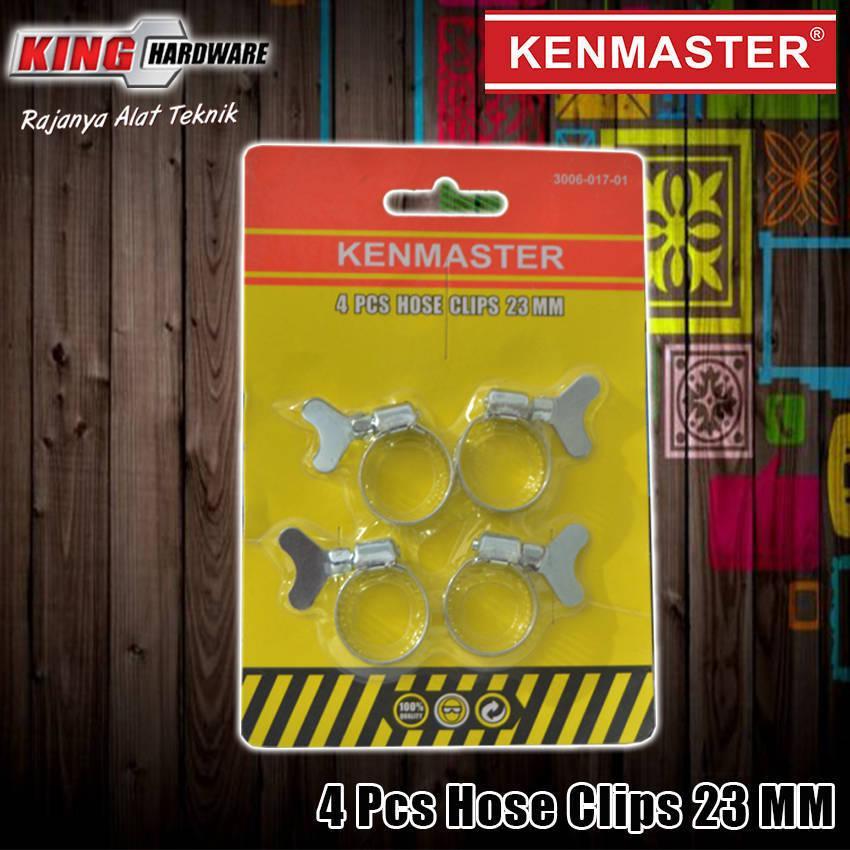 Klem Selang Hose Clamp Ring Gas LPG 23 mm 4 Pcs Kenmaster