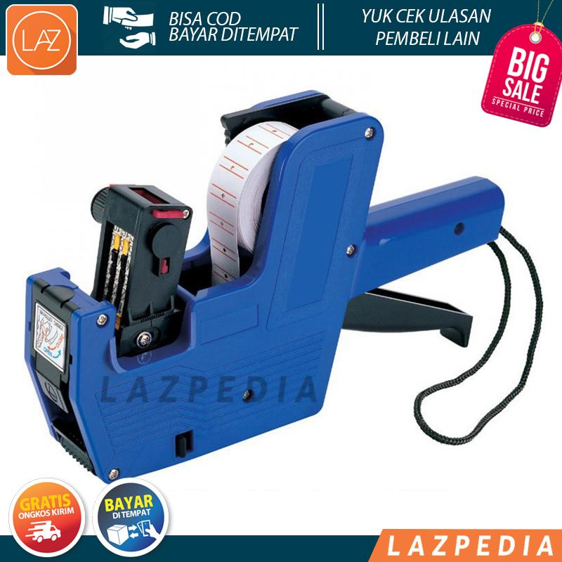 BAYAR DITEMPAT - HARGA PROMO!!!!! - Single Row Price Labeller Machine Coding - MX-5500 / Alat Label Harga / Warna Random - Lazpedia A715