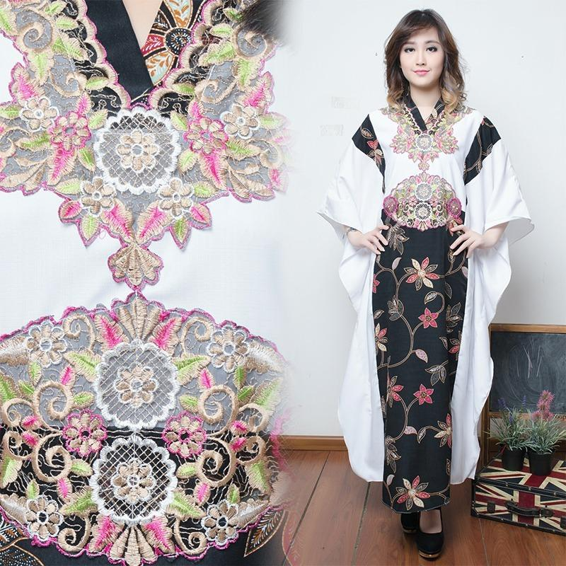 Glow Fashion Dress maxi panjang gamis kaftan wanita jumbo long dress Nagita