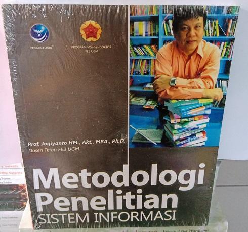 Buku Metodologi Penelitian Sistem Informasi - Jogiyanto Hartono, Akt., MBA, Ph.D