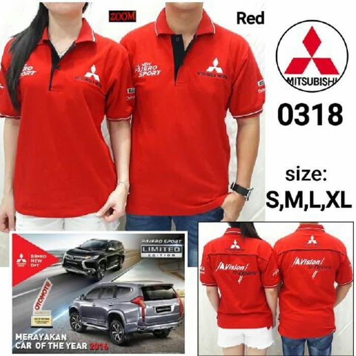 HOT SPESIAL!!! Baju Kaos Polo Shirt Mitsubishi Pajero
