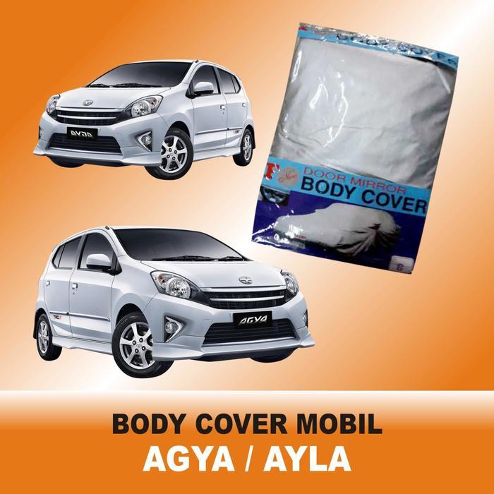 Stok Ready Sarung Penutup (Selimut Mobil) Ekonomis Untuk Tipe Mobil AGYA / AYLA