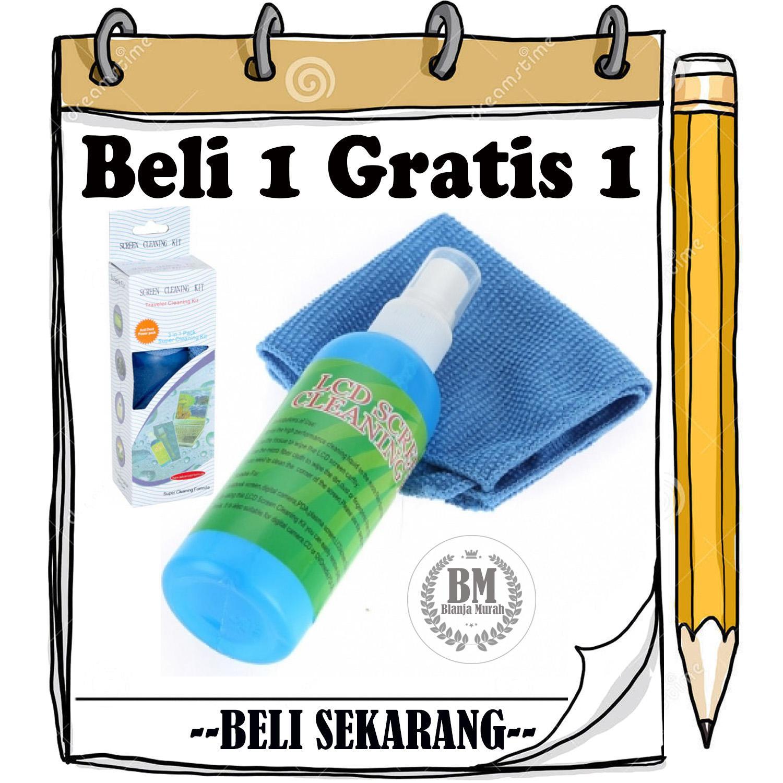 PROMO BUY 1 GET 1 FREE Cleaning KIT Pembersih LDC / Layar Plasma PC Laptop Hp Tablet - BELI 1 GRATIS 1