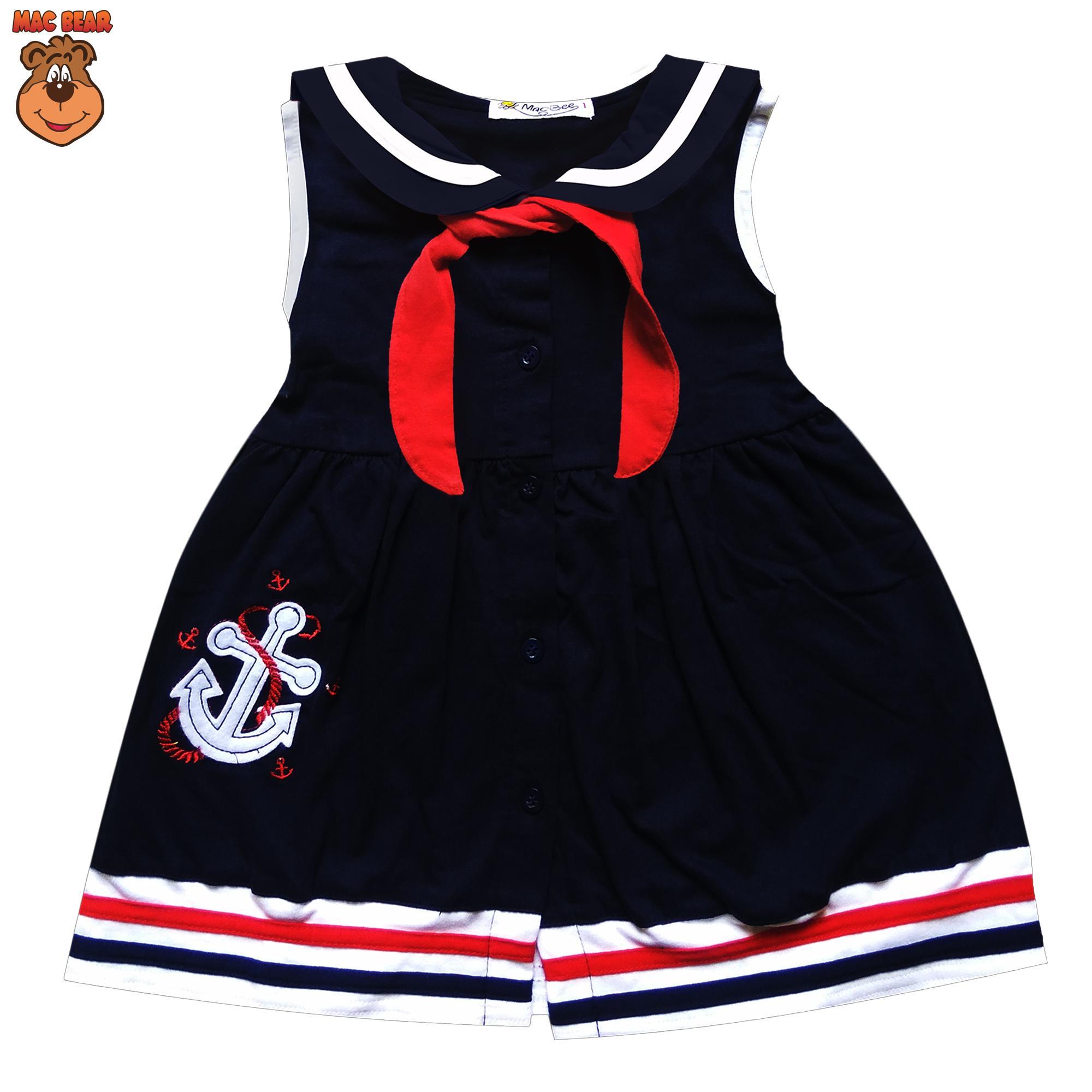 MacBee Kids Baju Anak Dress Sailor Laura