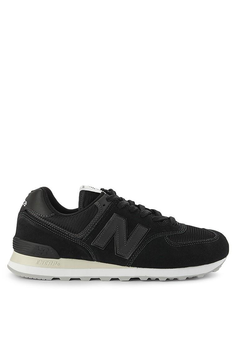 New Balance 574 Classic Tonal - Sepatu Pria - Hitam 4f956cab22
