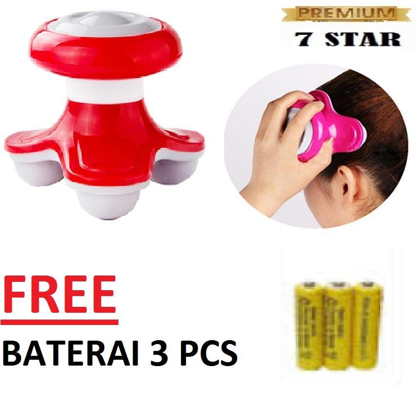 Alat Pijit Mimo FREE Baterai 3 Pcs Mini Massager 7STAR / Electrical Massage - Mini Massager - Alat