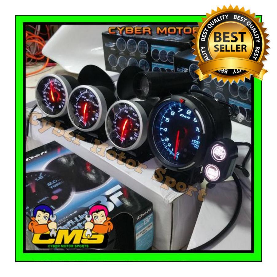 Paket Mak nyus Tachometer dan indikator komplit. Paket interior racing Tachometer universal. Paket gaul interior racing