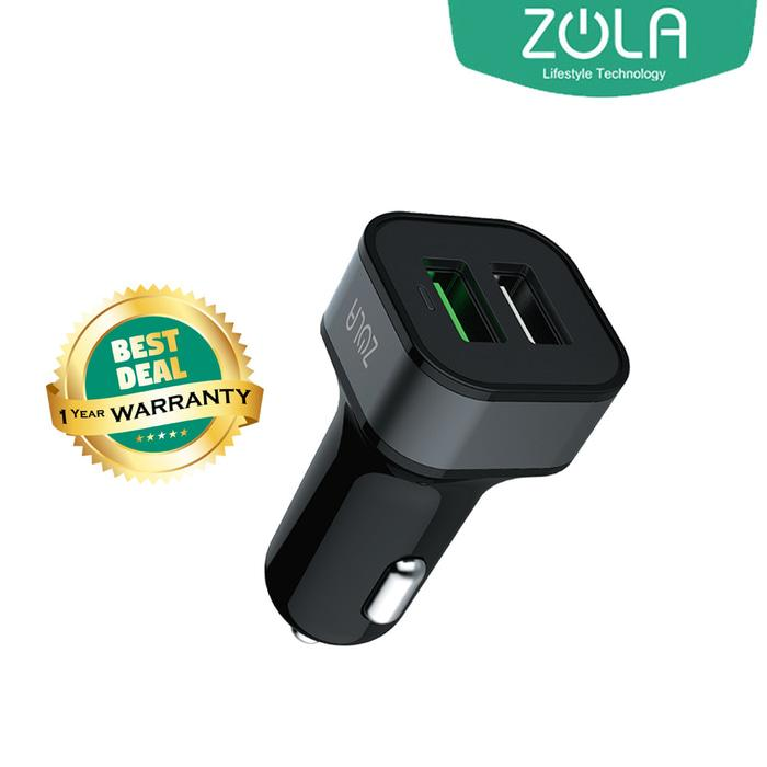 Car Charger ZOLA Dash Q Quick Charge 3.0