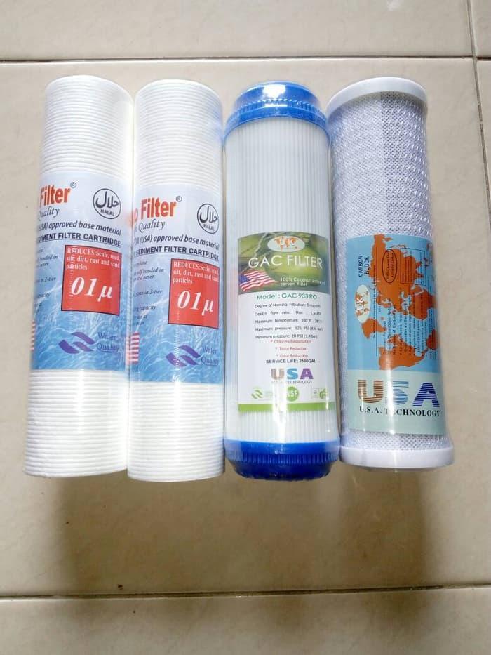 Paket Filter Air / Isi Undersink Reverse Osmosis 10