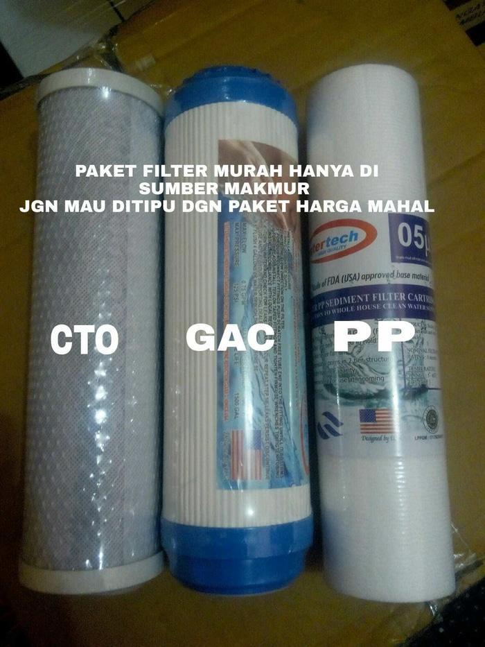 Paket Filter Air Catridge,GAC,CTO 10 inch