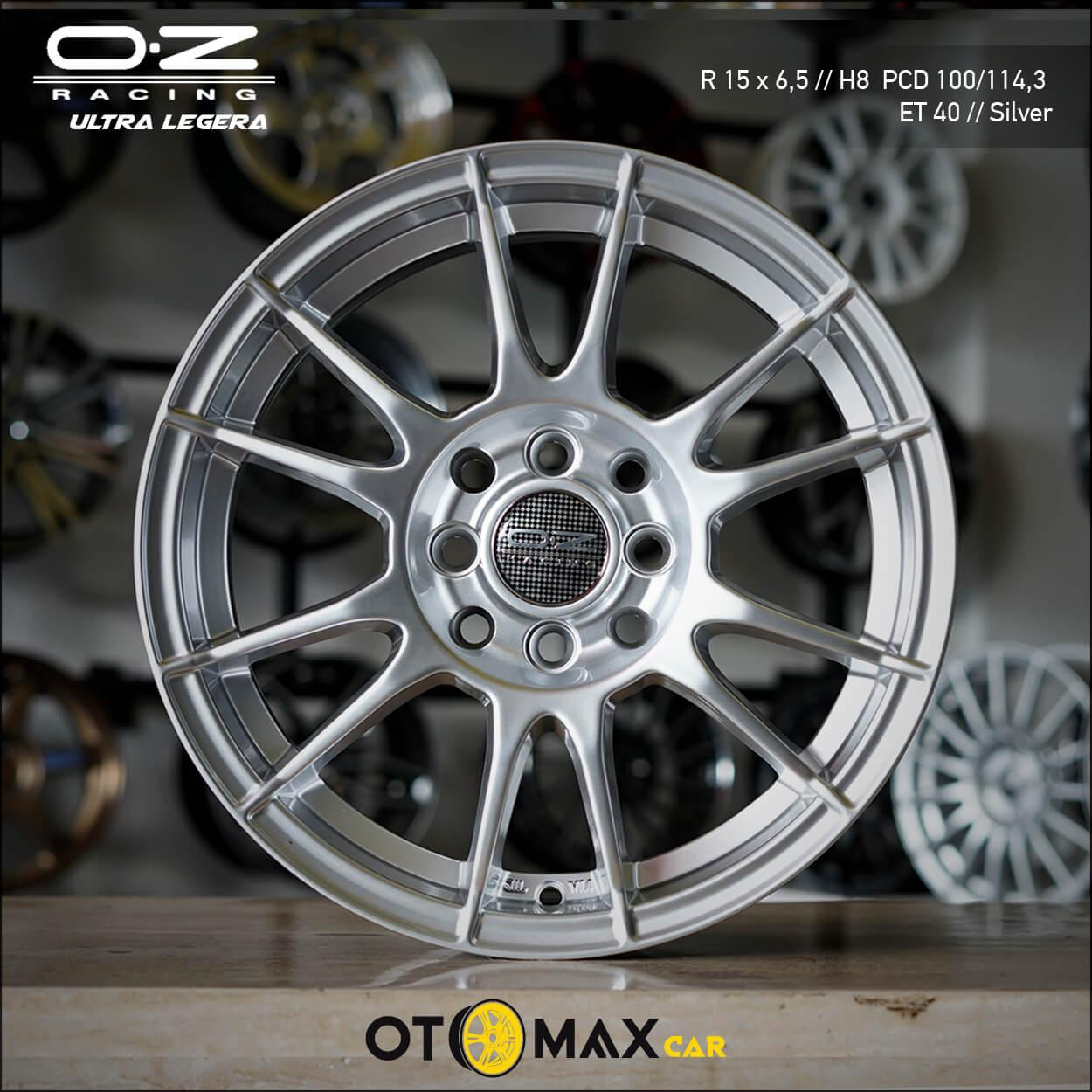 Velg Mobil OZ Ultra Legera Ring 15 Silver