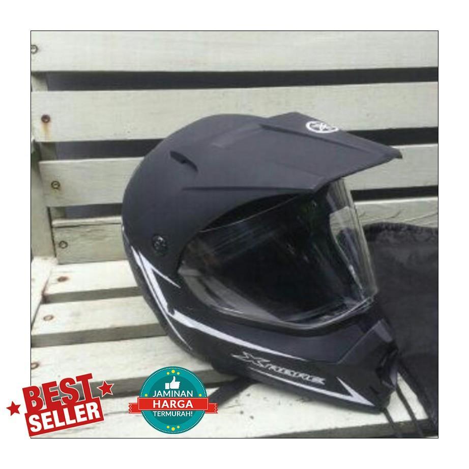 Helmet Yamaha Xabre Warna Hitam Doff/Yamaha Helmet Xabre/Helm Yamaha