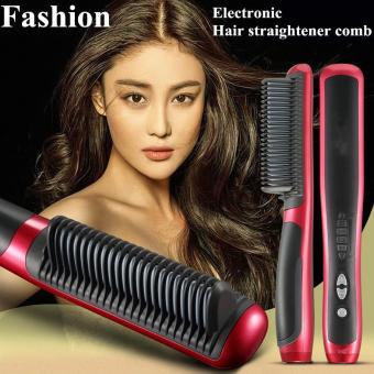 Pencarian Termurah Harazaki Store ASL-908 Catok Sisir Pelurus Rambut Fast Hair Straightener Sisir Catokan