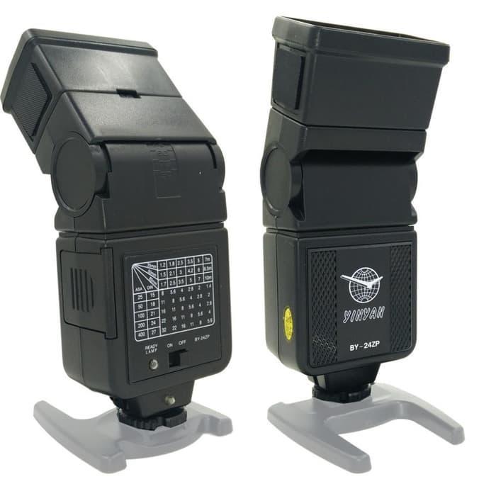 YINYAN BY-24ZP Camera Flash Speedlight Canon Nikon Pentax Olympus Terlaris di Lazada