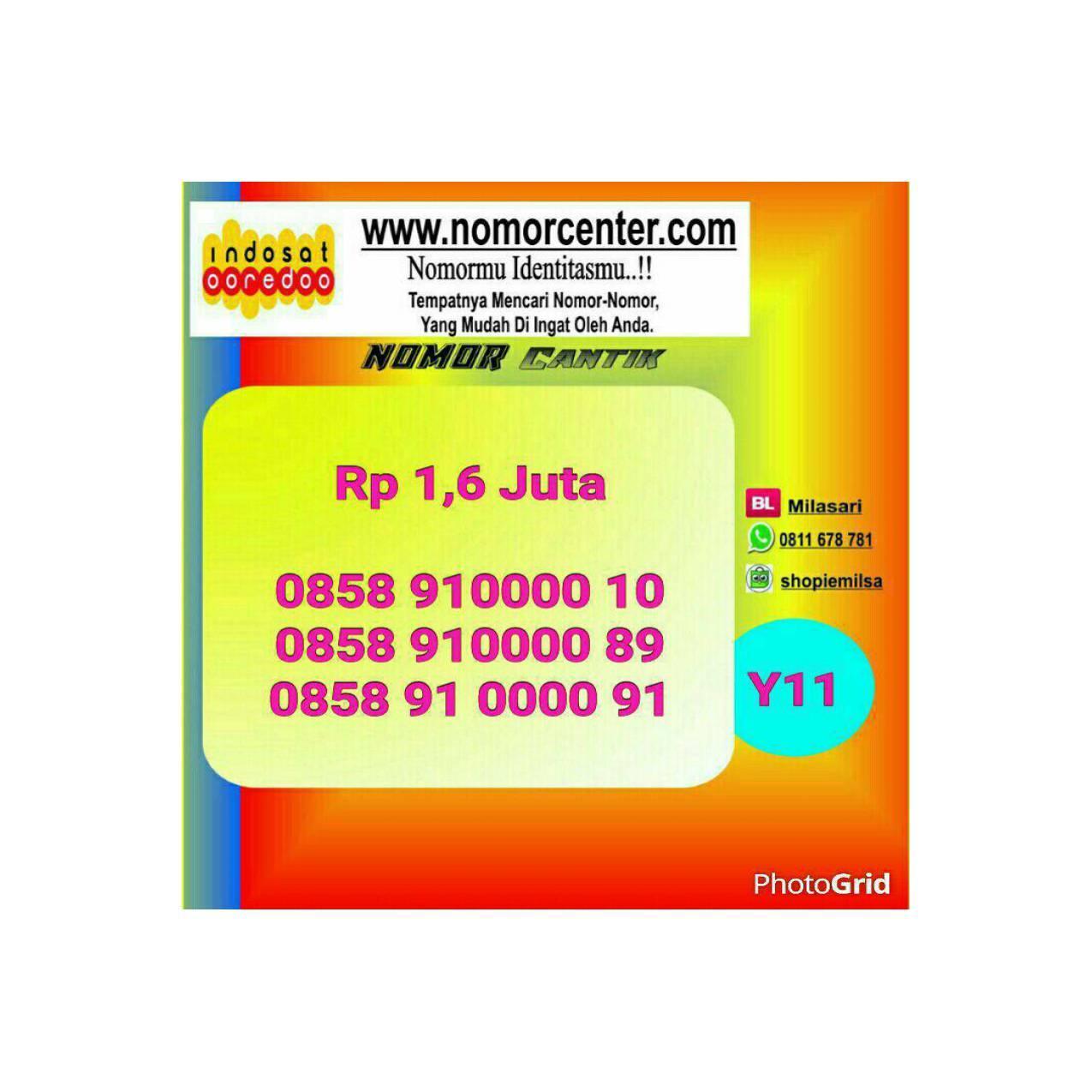 Indosat Im 3 Nomor Cantik 0857 191 70000 Daftar Harga Terlengkap Source · Nomor Cantik Indosat