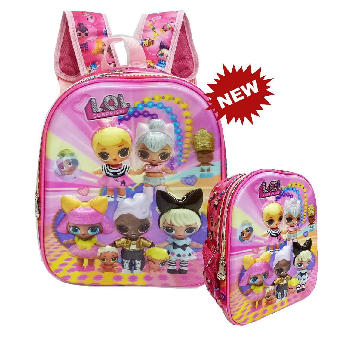 Jual Tas Ransel Anak Terbaik Sekolah Paud Model Mobil Tsum Pink Onlan Berkualitas Perempuan 5d Timbul Hologram Ukuran Tk Import