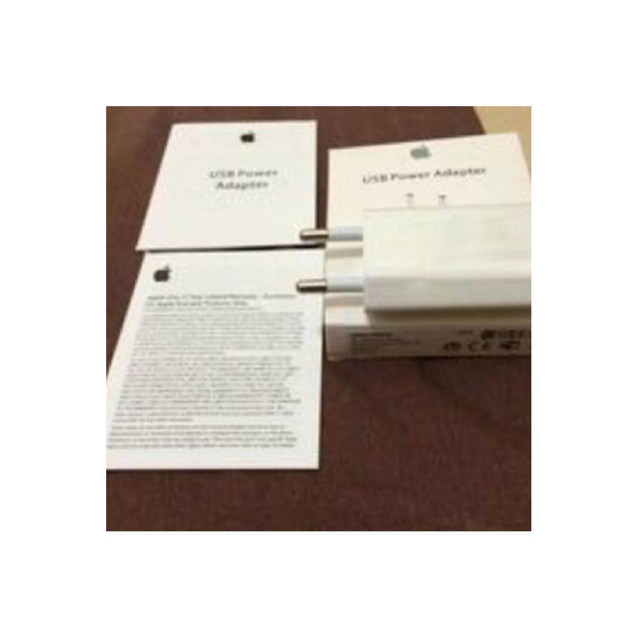 Jual Adaptor Kepala Charger Iphone 5 5S 6 6S+7 7+ Ipod Ipad Mini 5 Ori