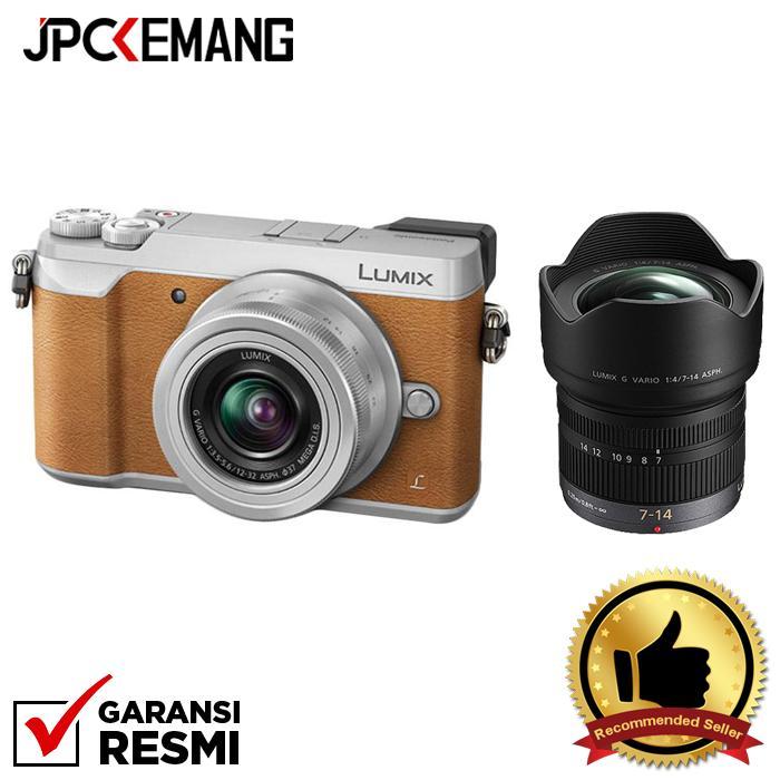 Panasonic Lumix DMC-GX85 Kit 12-32mm with 7-14mm f/4.0 ASPH jpckemang GARANSI RESMI
