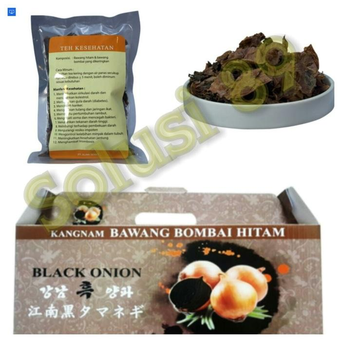 Minuman Herbal Teh Bawang Hitam Sehat KANGNAM BLACK ONION HEALTHY DRINK ...