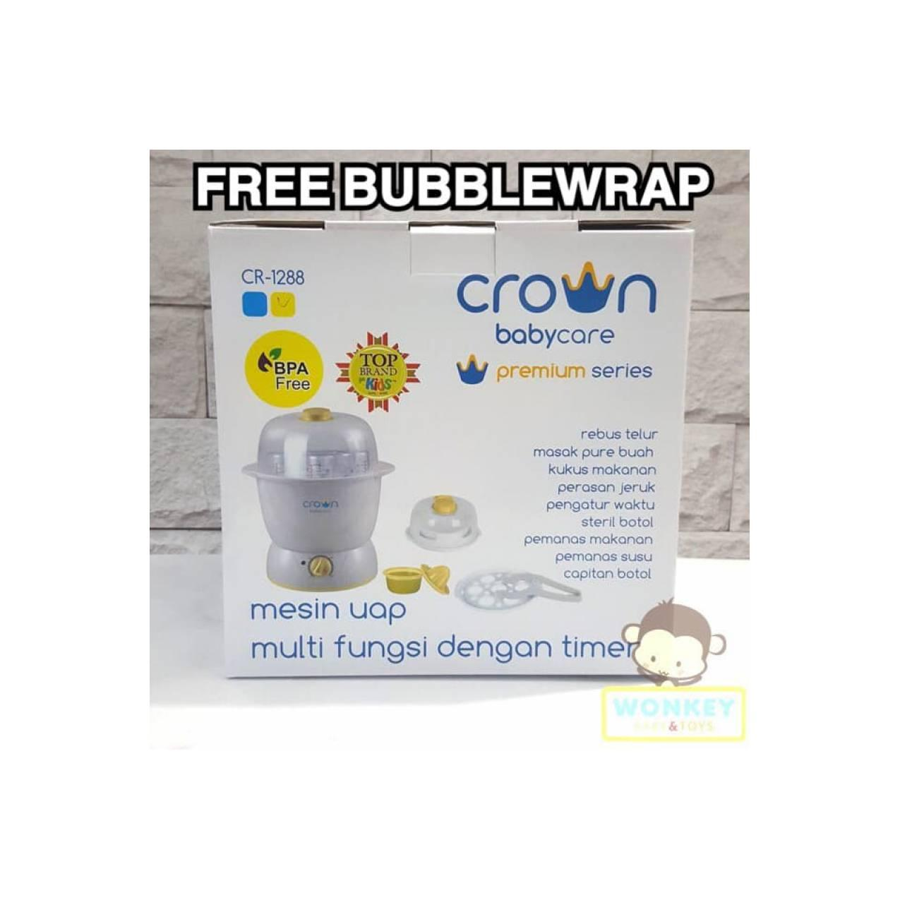 Crown Mesin Uap CR1288 Multifunction Steam Centre with Auto Timer