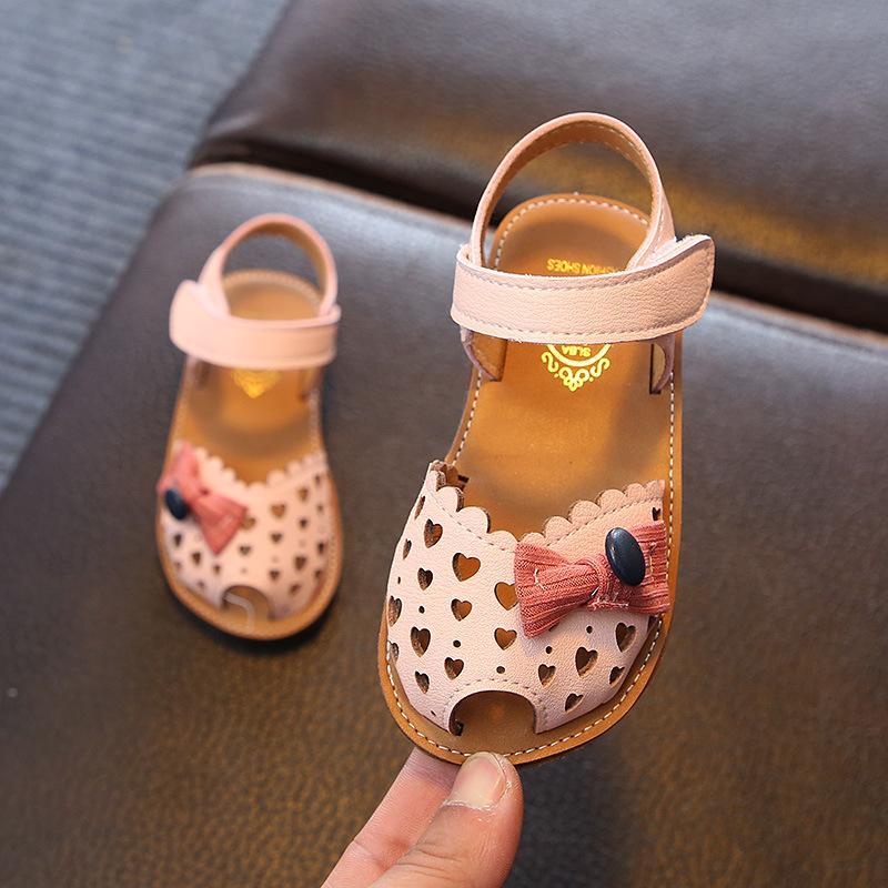 Petpet Sandal Summer Wanita Sepatu Putri 2019 Musim Panas Model Baru Anak Prempuan Pijakan Empuk Anti Slip 1-3 Tahun Gaya Korea Mulut Ikan Sandal Summer Pasang By Koleksi Taobao.