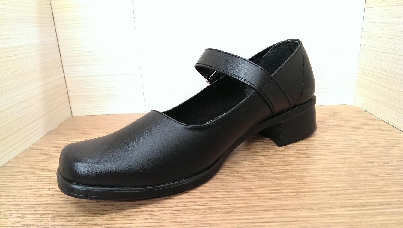 Sepatu Paskibra Wanita PKB Hitam / Sepatu Paskibra
