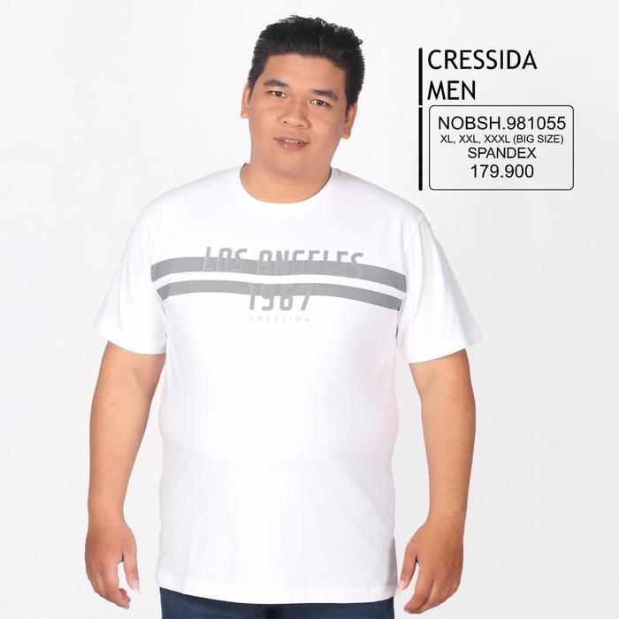Hot Item!! Kaos Cressida Men Big Size 2 - ready stock