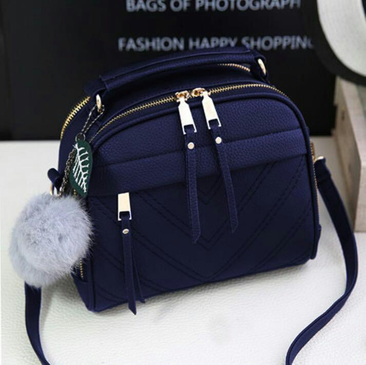 J&C Women Handbag / Hand Bag / Tas Bahu Wanita / Tas Selempang / Sling Bag / Tas Kulit / Top Handle