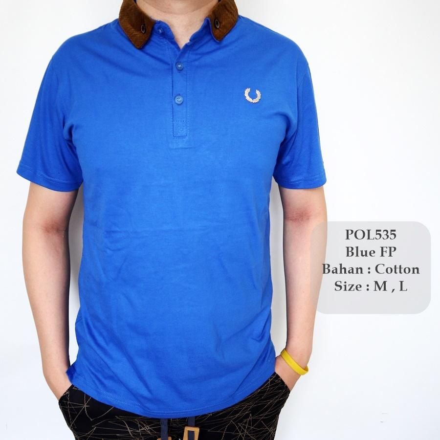Rp 57.000. GFS 535 Polo Fashion Pria / Polo Shirt Cowok / Kaos Berkerah Cowok / Baju ...