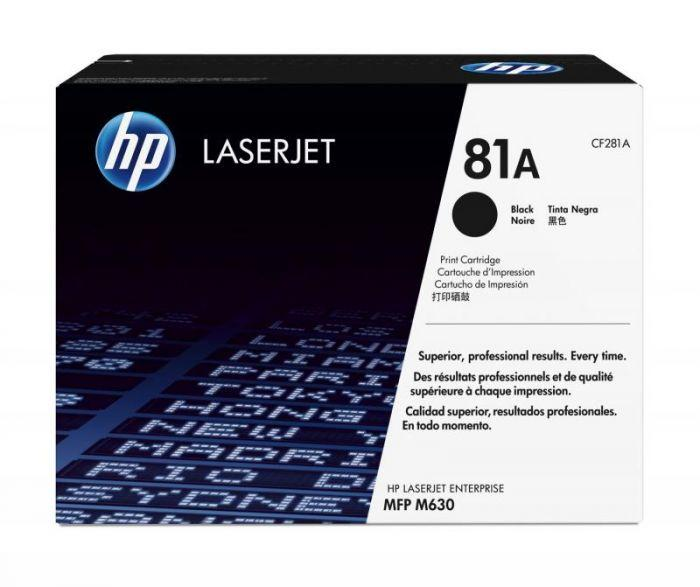 HP 81A - Black LJ Toner Cartridge - (CF281A)