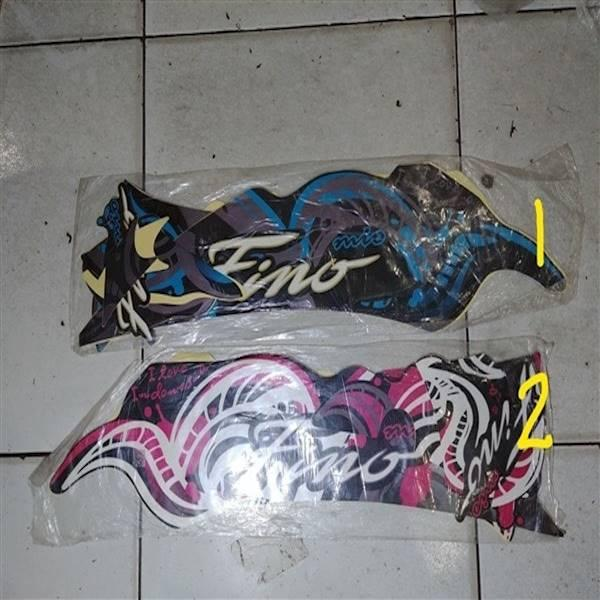 Striping Lis&Stiker Body&Stiker Motor Fino 2013 Batik